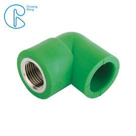 Green PPR Plastic High Quality Various Types Female Elbow In 90 Degree