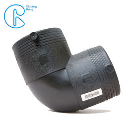 OD63 90 Degree Elbow Electrofusion HDPE Fittings For Water Supply PN16 SDR11 PE100