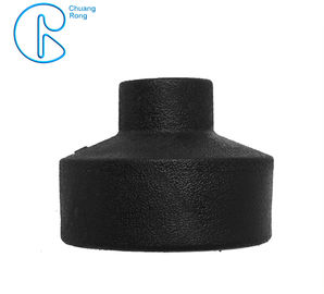 HDPE Socket Fusion Pipe Reducer Coupling PE100 PN16 SDR11 CE Approved