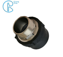 China PE100 PN16 SDR11 Hdpe Male Threaded Adaptor , Socket Fusion Male Adaptor factory