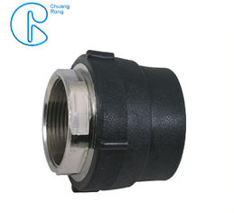 China ISO Approved HDPE Socket Fusion Fittings , Hdpe Female Adaptor PE100 PN16 SDR11 factory