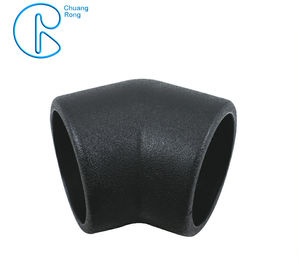 China PE100 PN16 SDR11 HDPE Socket Fusion Fittings 45 Degree Elbow CE Certificated factory