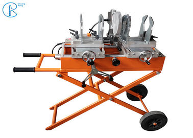 China Bench 25 - 160mm  Working Range Welding machine Using For Pipes And Fittings factory