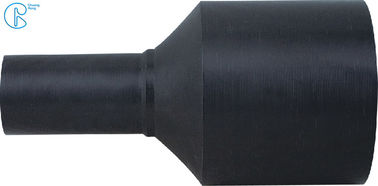 Black Color HDPE Fusion Fittings Buttwelding Joint Fittings Pe100 Reducer