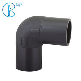 PE100 PN16 SDR11 HDPE Fusion Fittings , HDPE 90 Degree Elbow With Welding Parameters