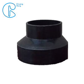 China PN6 PE100 HDPE Siphon Fitting , HDPE Eccentric Reducer 63*50mm-315*160mm factory