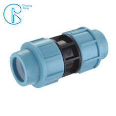 ISO Approved PP Compression Fitting , Polypropylene Coupling For Water Supply