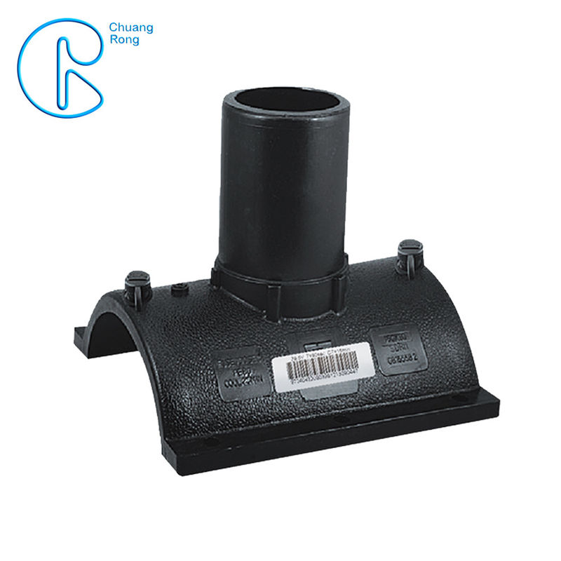 Commercial Hdpe Electrofusion Branch Saddle PN16 SDR11 PE100 For Gas Transportation