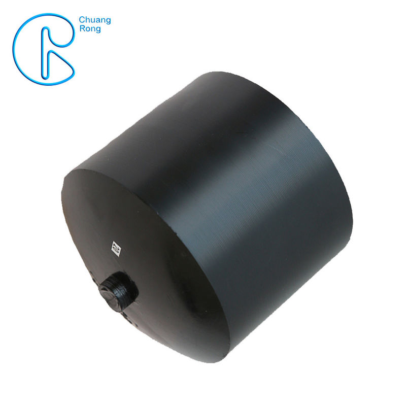 Raw Ployethylene Materials Hdpe Fusion Fittings Full Dimension End Cap supplier
