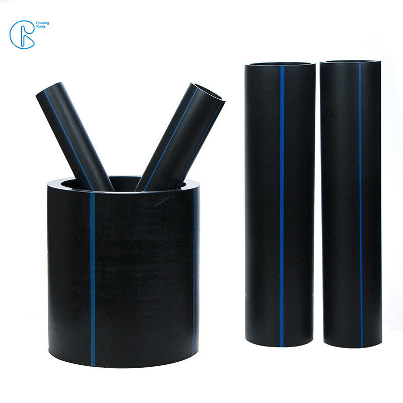 High Density Polyethylene HDPE Pipe DN63mm DN110mm DN315 Polypipe for Drinking Water Supply