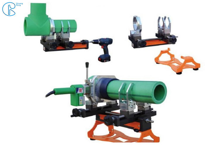 Plastic Pipe Tube Socket Fusion Welder Machine In 1400W Suit For 20 - 25mm