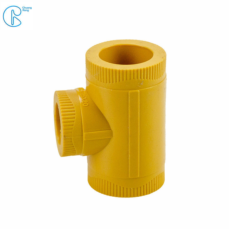 20-110mm Indoor PPR Pipe Fittings Ppr Equal Tee With Long Time Service