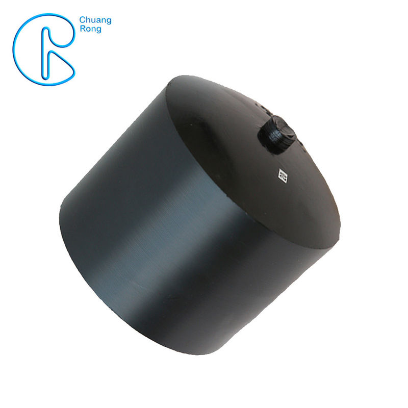 Corrosion Resistant EN 12201 HDPE End Caps For Sewerage Treatment