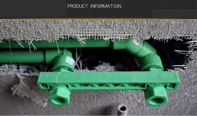 Good Insulation Ability Green PPR Pipe 20-160mm For Hot And Cold Water