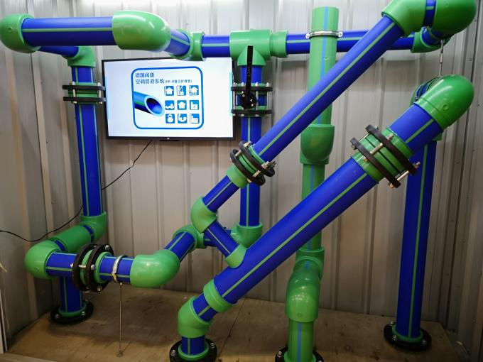 Full Size Blue High Pressure PPR Pipe For HAVC And Chilled Water