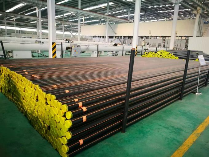 HDPE High Density Polyethylene Pipe For Gas Supply Pipe System PE80 PE100