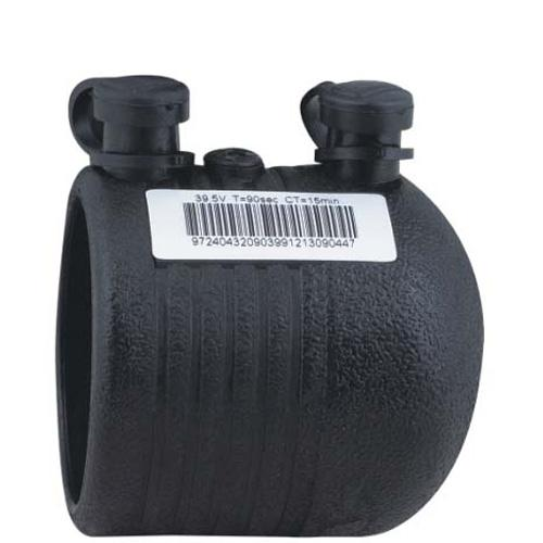 Water And Gas Supply HDPE Electrofusion Fittings , HDPE End Cap PN16 SDR11 PE100