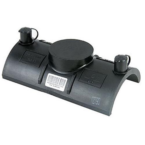90-315mm HDPE Electrofusion Fittings Repair Saddle For Gas Supply PN16 SDR11 PE100