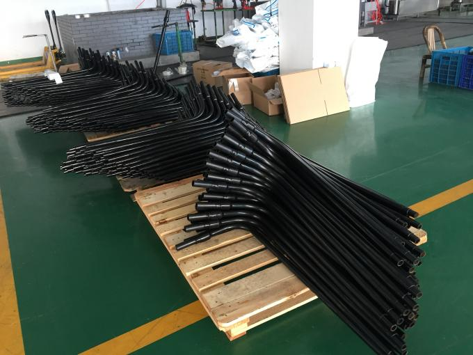 PN16 HDPE Electrofusion Pipe Fittings , PE / Steel Transition Threaded For Gas Supply