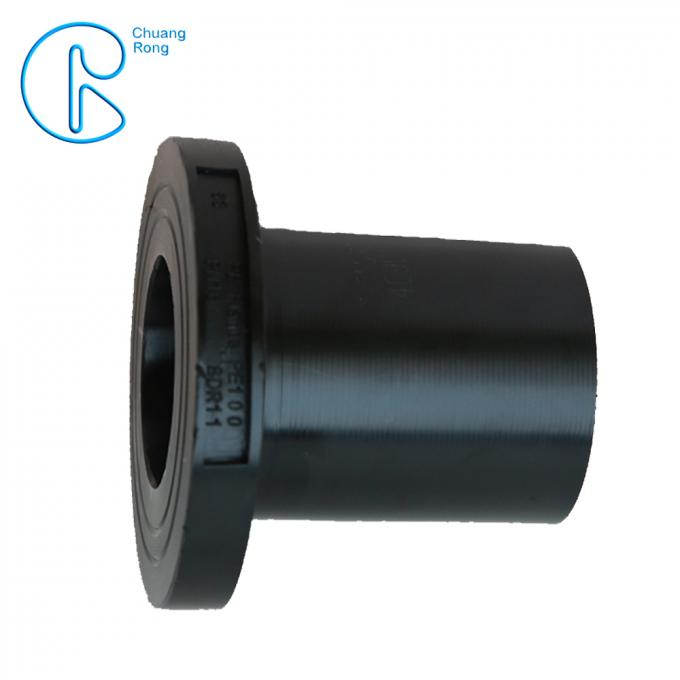 Water Supply Pipeline Fitting HDPE Stub Flange End Adaptor Long Service Life