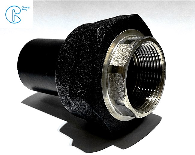Light Weight HDPE Poly Pipe Connectors , HDPE Female Adapter For Plastic Water Pipe