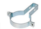 PN6 50mm 90mm 110mm 160mm 315mm HDPE Draining Fittings Siphon Pipe Clamp
