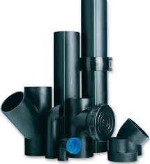 PN6 PE100 50-200mm HDPE Draining Fittings Siphon Tee with Inspection Mouth