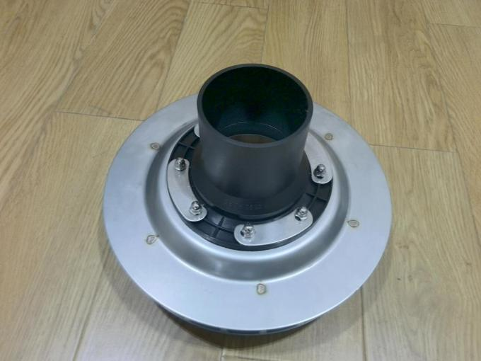 PN6 50mm 90mm 110mm HDPE Draining Fittings Siphon Flat Roof Drain