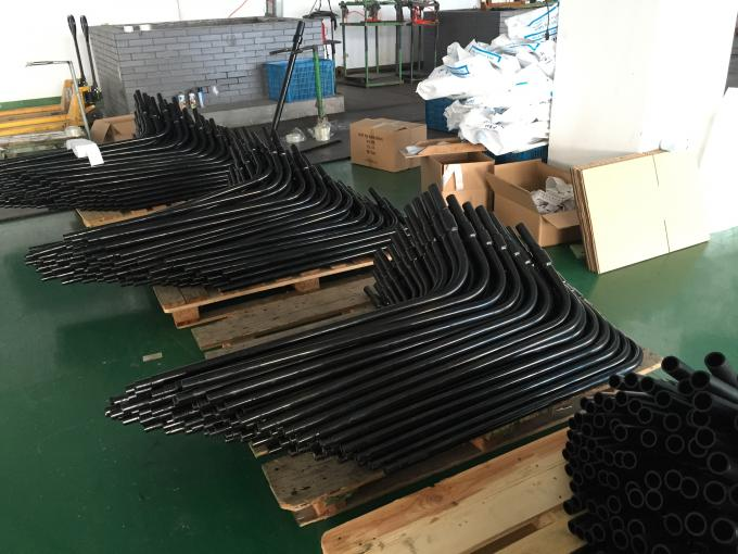 Electrofusion HDPE Pipe Fittings PE / Steel Transition For Gas Supply PN16